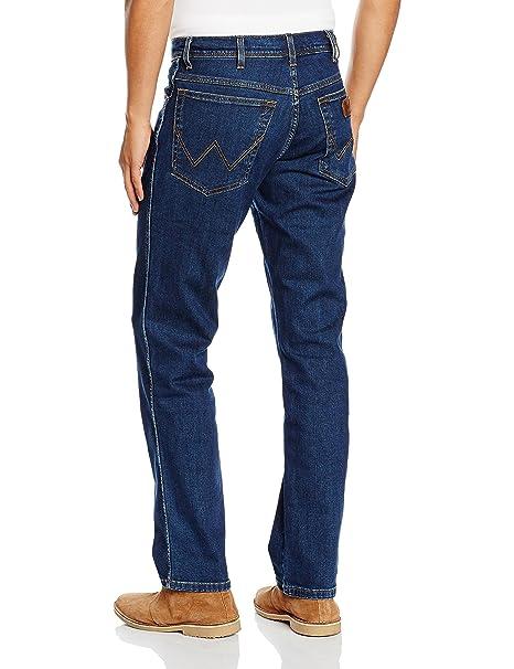 Enge Herren Jeans billige Biker Jeans Herren 3009 Blau