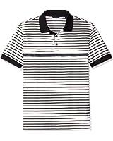 Nautica Men's Slim Fit Striped Polo Shirt