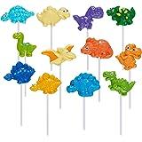 Prextex Dinosaur Lollipop Party Favors Dinosaur Suckers Pack of 12