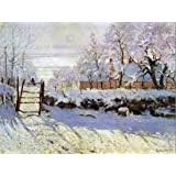 CLAUDE MONET MAGPIE OLD MASTER ART PAINTING PRINT 12x16 inch 30x40cm POSTER REPRODUCTION 632OM