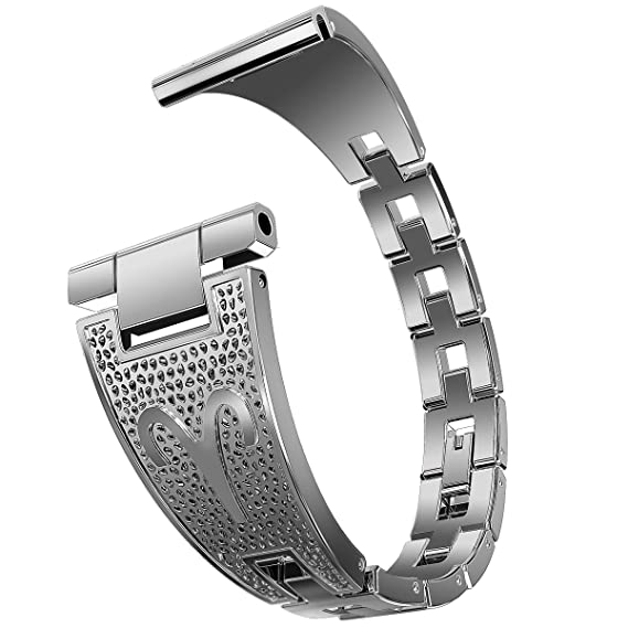d9c7ffe5104 WISHTA 20mm Galaxy Watch 42mm   Galaxy Watch Active Quick Release Stainless  Steel Clasp Strap for