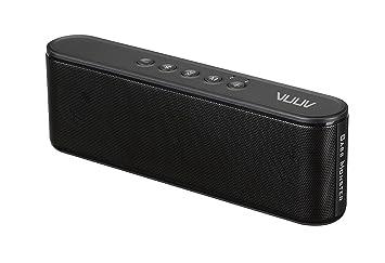 VUUV BASS Monster 10 Bluetooth Speaker 10W, Enhanced Bass, Built in Mic,  10 subwoofer Passive bass radiators