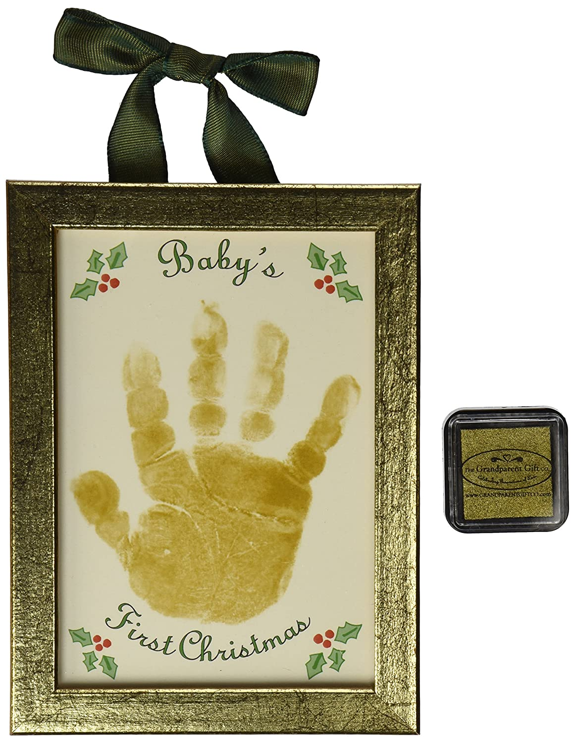 The Grandparent Gift Holiday First Christmas Handprint Keepsake, Baby's Baby's The Grandparent Gift Co. 3054