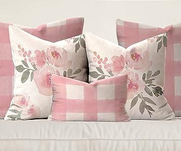 Amazon.com: wallpaperie Rosa Pastel Floral & Funda de ...