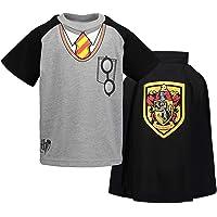 HARRY POTTER Warner Bros Conjunto de Gryffindor con Camiseta y Capa para Niños