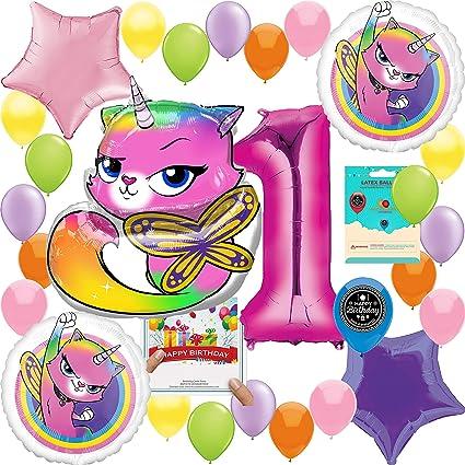 Amazon.com: Paquete de decoración de globos de cumpleaños ...