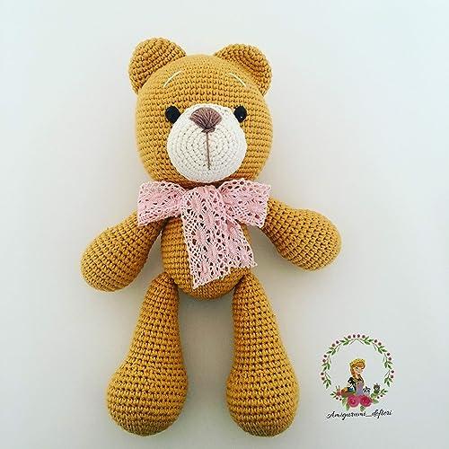 Amigurumi wedding bears: crochet pattern - Amigurumi Today | 500x500