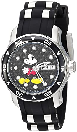 35589448a9b Image Unavailable. Image not available for. Color  Invicta Women s Disney  Limited Edition Stainless Steel ...
