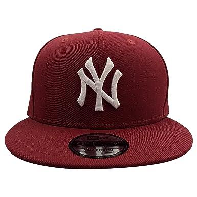 Amazon.com  New Era New York Yankees MLB Maroon 9FIFTY Snapback Cap ... f188994f6f4