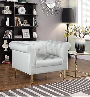 Amazon.com: Chic Home Julian - Sofá tapizado de terciopelo ...