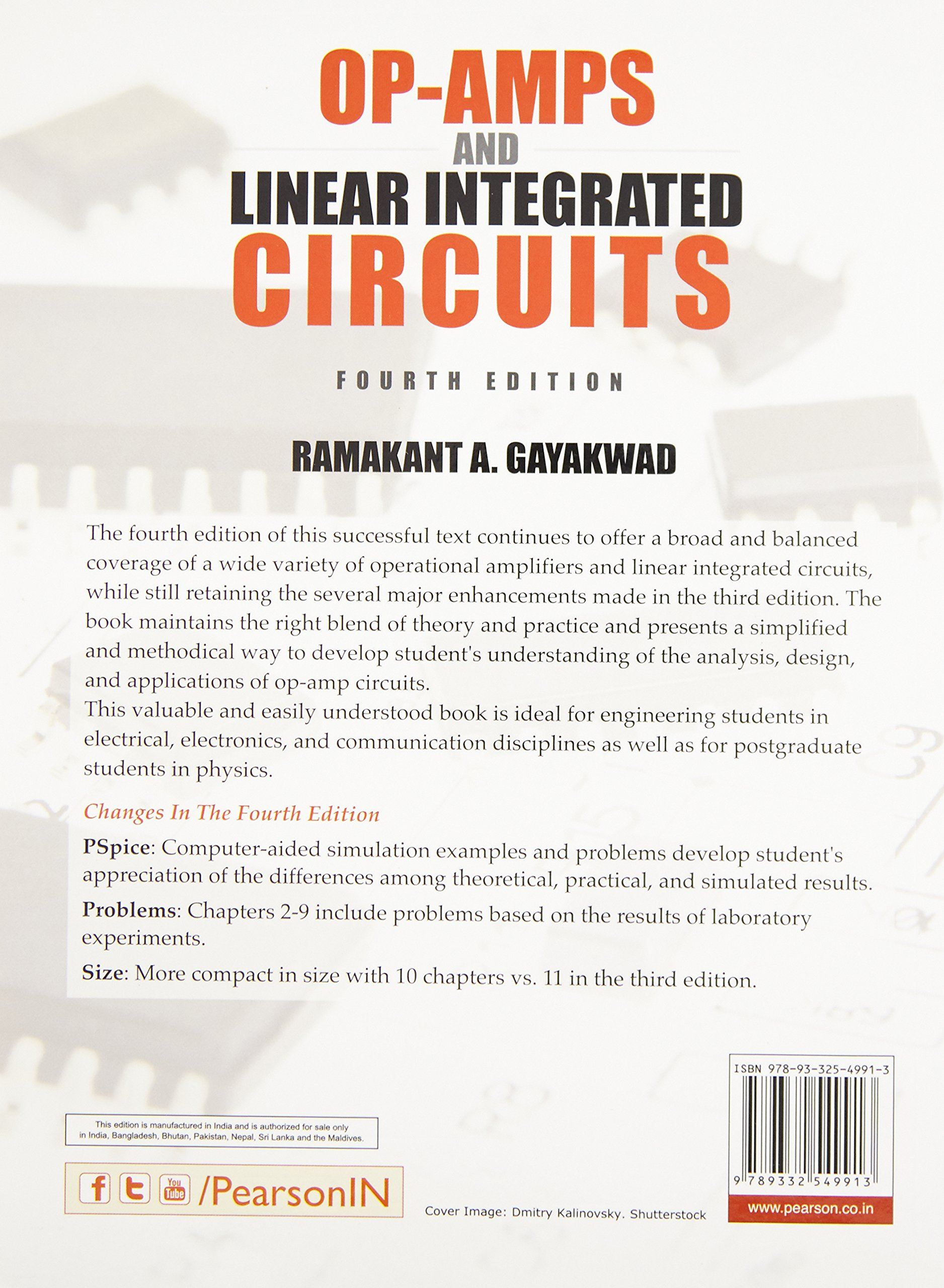Op Amps And Linear Integrated Circuits Gayakwad 9789332549913 Solving Amp Circuit Books