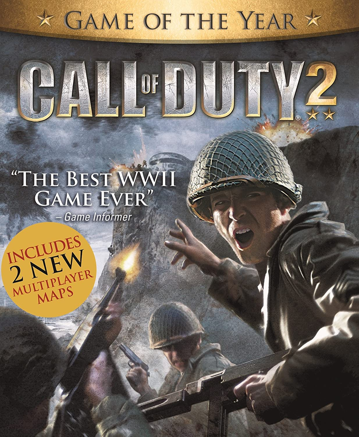 Amazon com: Call of Duty 2 [Online Game Code]: Video Games