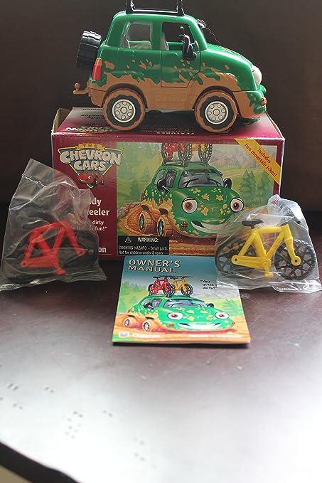 Amazon Com Chevron Cars Freddy 4 Wheeler With Mountain Bikes 3