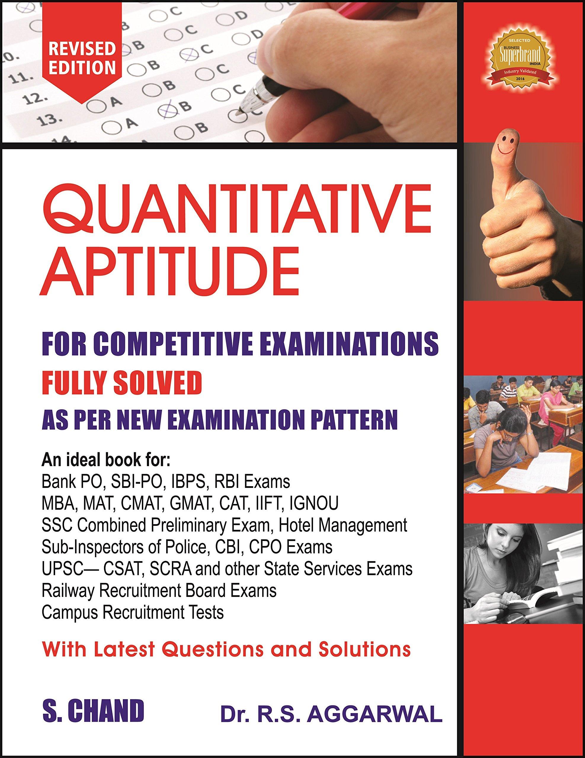 Buy Quantitative Aptitude for petitive Examinations Book line at Low Prices in India
