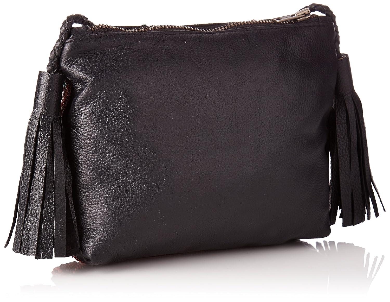 Pochette De Zitha, Femmes Sac À Bandoulière, Noir (noir), 5x17x21 Cm (wxhl) Antik Batik