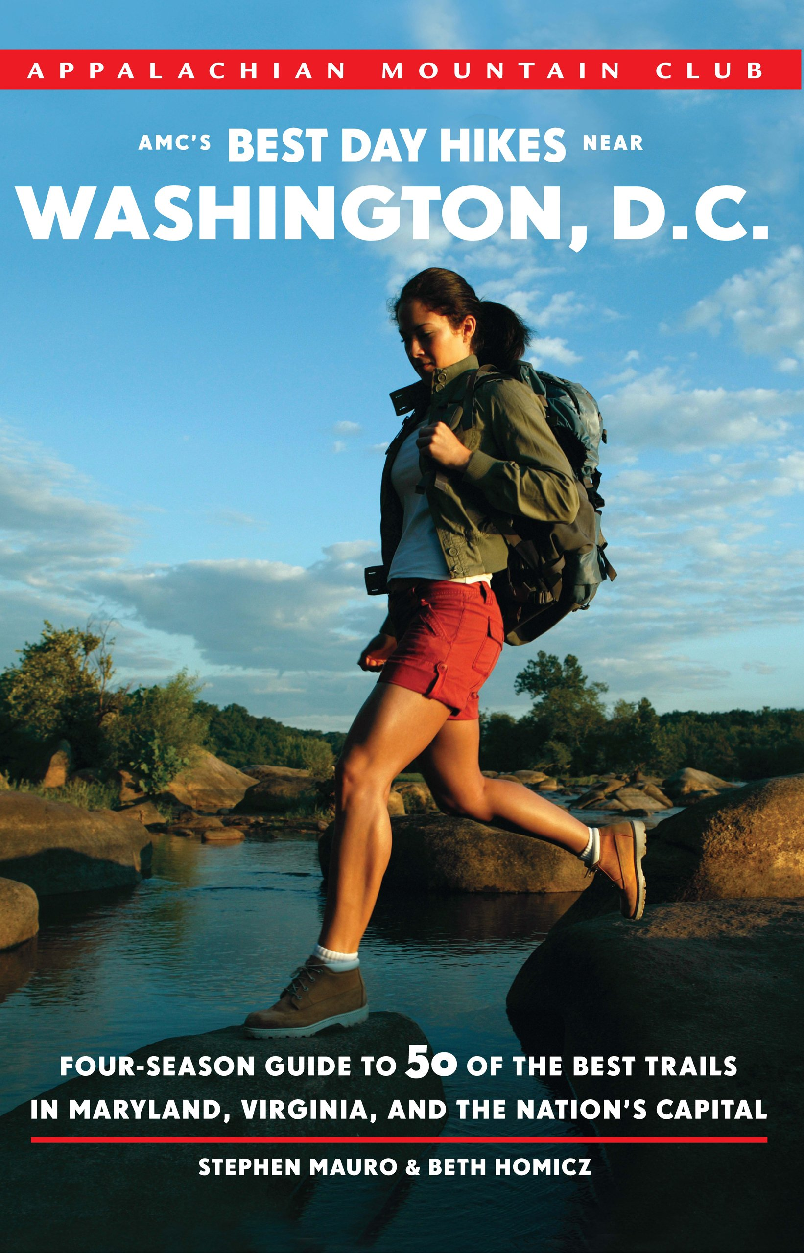 Download AMC's Best Day Hikes near Washington, D.C.: Four-season Guide to 50 of the Best Trails in Maryland, Virginia, and the Nation's Capital pdf epub
