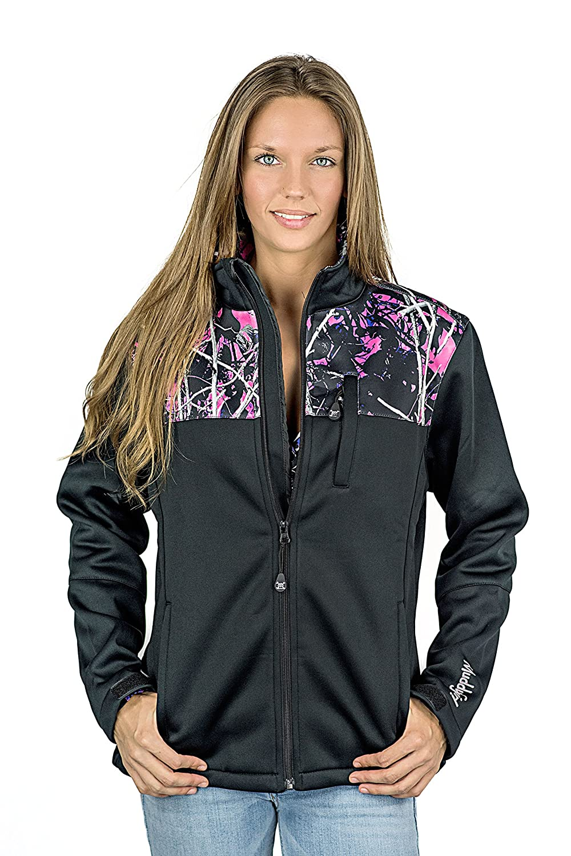 Muddy Girl Protek Soft Shell Jacket [Camo Shoulders] 0307102