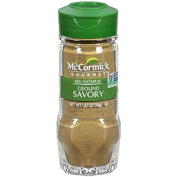 McCormick Gourmet All Natural Ground Savory, 1 37 oz