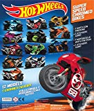 PARTY BAG FILLERS for Boys: Hot Wheels Chromed Motorbikes- Rev N Rip! Pack of 10 Random Bikes - Perfect Party Bag Gifts or Toys