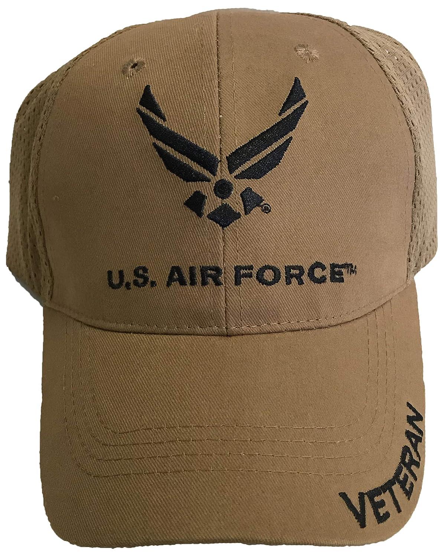 Eagle Crest US Air Force Veteran Coyote Mesh Hat