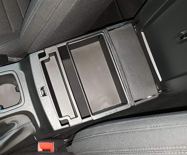 Bo/îte de Rangement Samfox Car Left Accoudoir Bo/îte de Rangement Console Centrale Organisateur Console Centrale Plateau de Remplacement Compatible Avec Merc-edes Be-nz A//b//cla//gla Classe W176 W246 X15