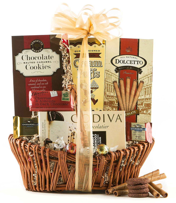 Amazon.com : Wine.com Say It With Chocolate Gift Basket : Gourmet ...