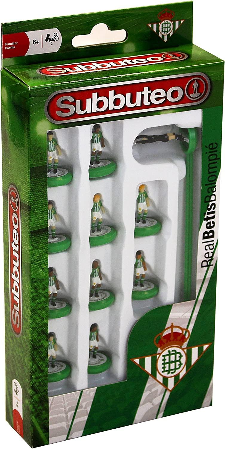 Eleven Force Balompié Subbuteo Teambox Real Betis (81939 ...