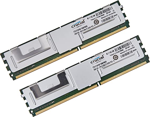 KOMPUTERBAY 16GB Certified Memory for DELL PowerVault NF600 DDR2 667MHz PC2-5300 Fully Buffered 8X2GB