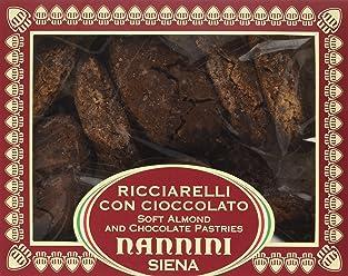 Pasticcerie Nannini Ricciarelli al Cioccolato - 250 G