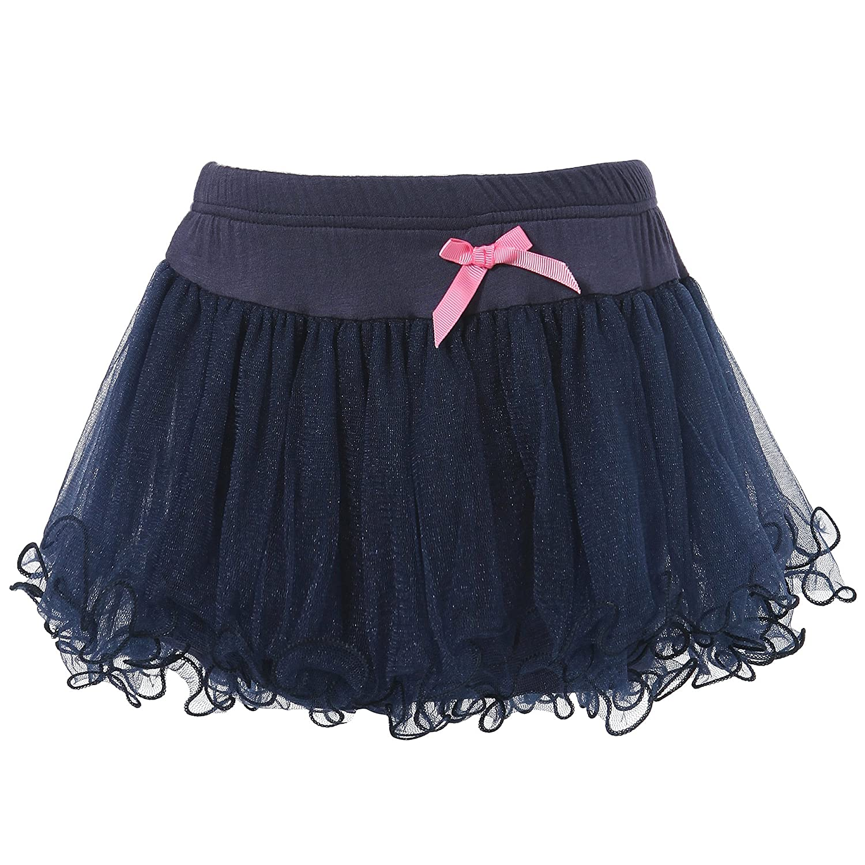 Richie House Girls' Layered Skirts with Overlock at Bottom RH1544