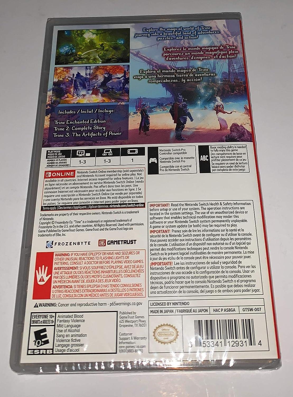 Amazon.com: Trine Series 1-3 Nintendo Switch: Video Games