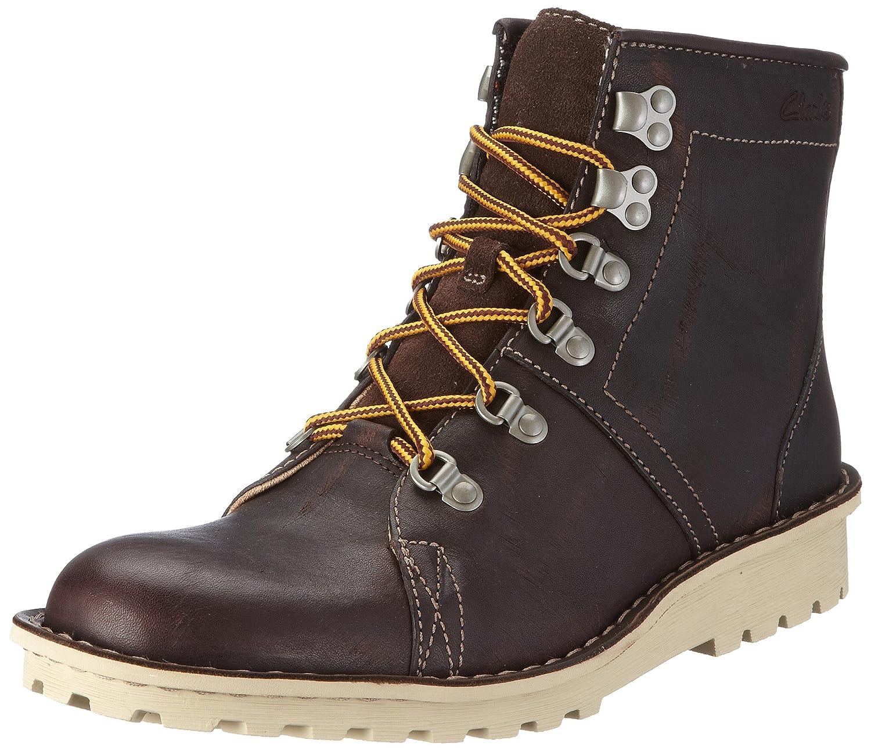 3844e5ae0e3 Clarks Men's Manly Alpine Chestnut Leather Boat Shoes - 7 UK: Buy ...