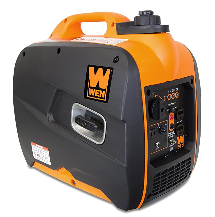 The generator great for campgrounds, construction sites, tailgates and power outages