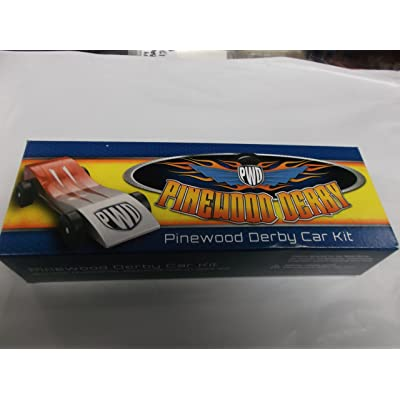 Scout Derby Grand Prix Pinewood Derby Car Kit: Toys & Games