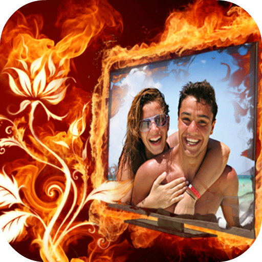 Fire Frame Photo Maker