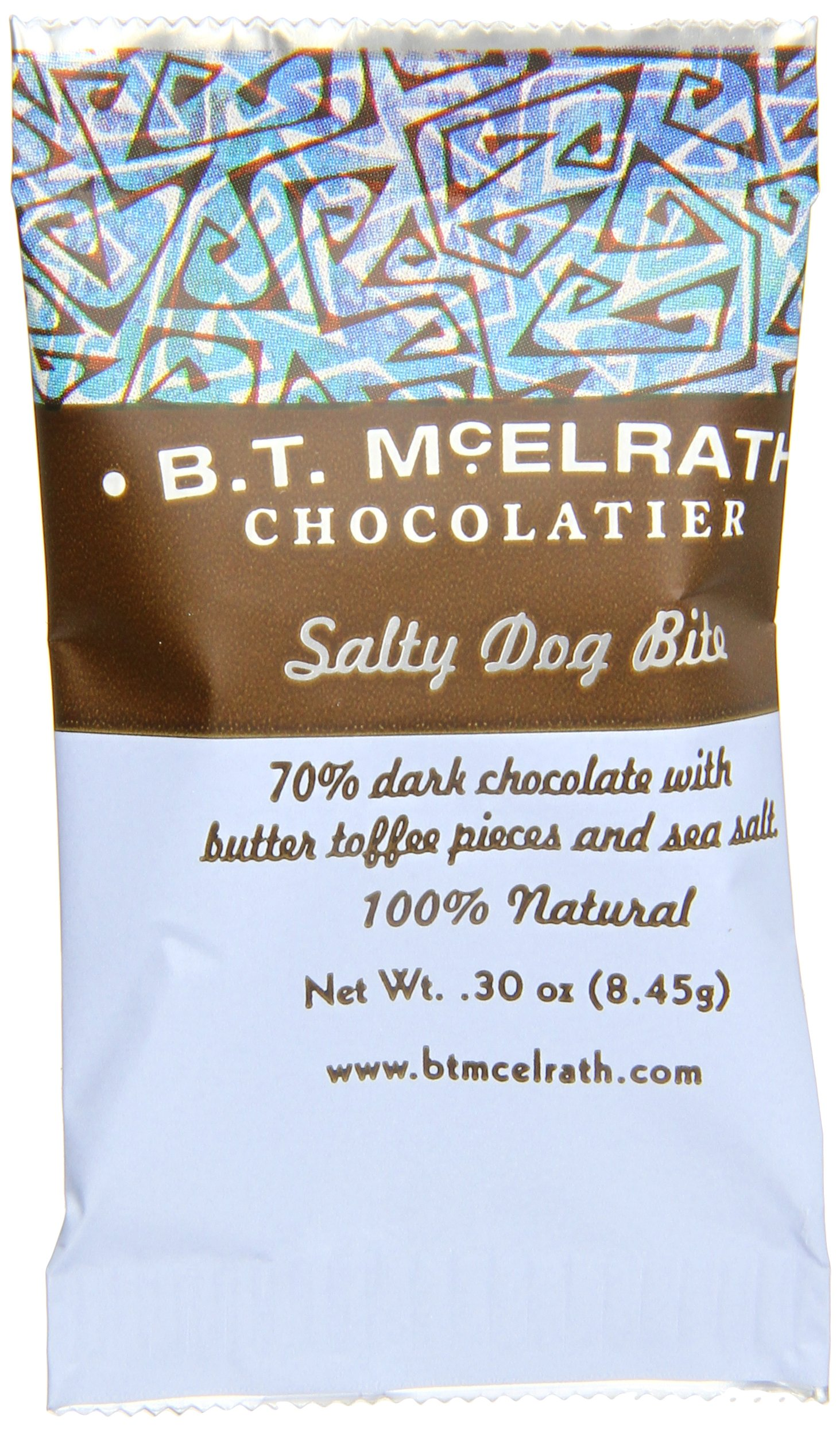 B.T. McElrath Chocolate Bite 70%, Salty Dog, .3 Ounce (Pack of 90) by Bt Mcelrath (Image #1)