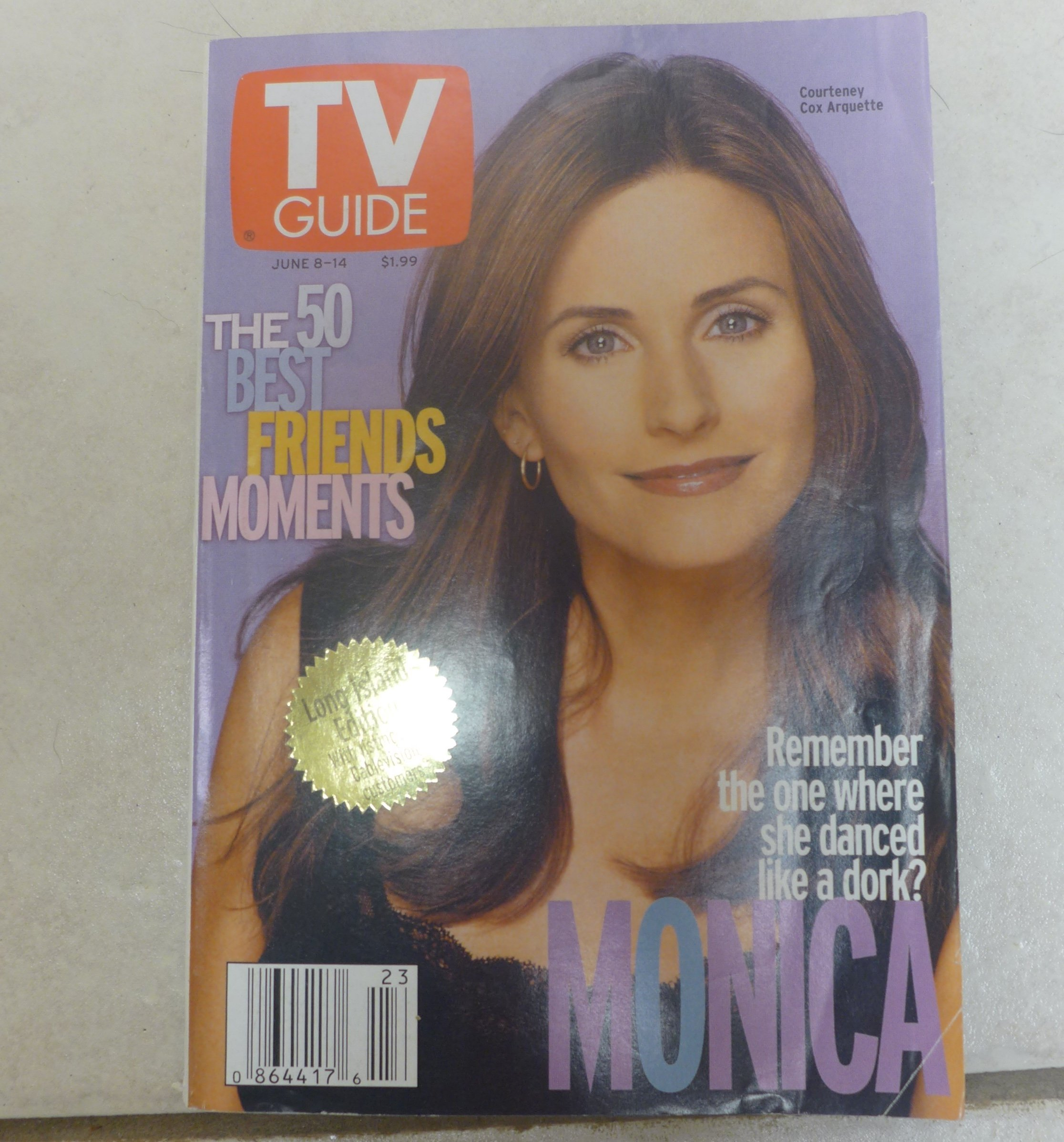 TV Guide June 8-14, 2002 (1 of 6 covers) (Courteney Cox Arquette as