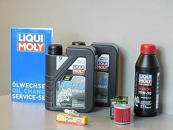 MotorFunSports Kit de mantenimiento Kymco Xciting 400 aceite ...