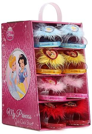 21d45524dc059 Rubie s-déguisement officiel - Disney- Déguisement Pack 4 Paires de Chaussures  Princesse- I