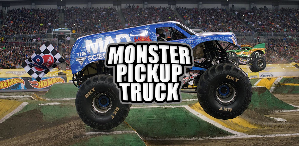 Amazon Com Monster Pickup Truck Appstore For Android