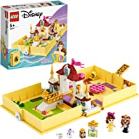 LEGO Disney Princess 43177 Belle's Storybook Adventures Building Kit (111 Pieces)