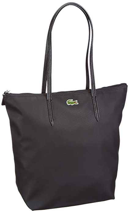 d6f4bfde73a63d Lacoste Donna NF0647PO Borsa shopper Nero Size: 27x35x14 cm (B x H x T):  Amazon.it: Scarpe e borse