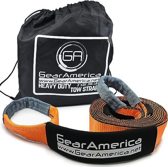 GearAmerica Heavy Duty Tow Strap (20 ft.)