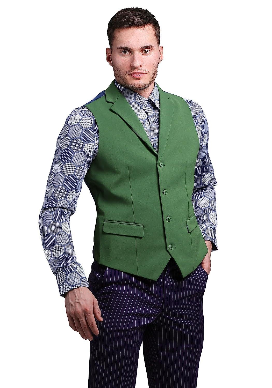 FUNSUITS mens THE JOKER Suit Vest (Authentic) Large