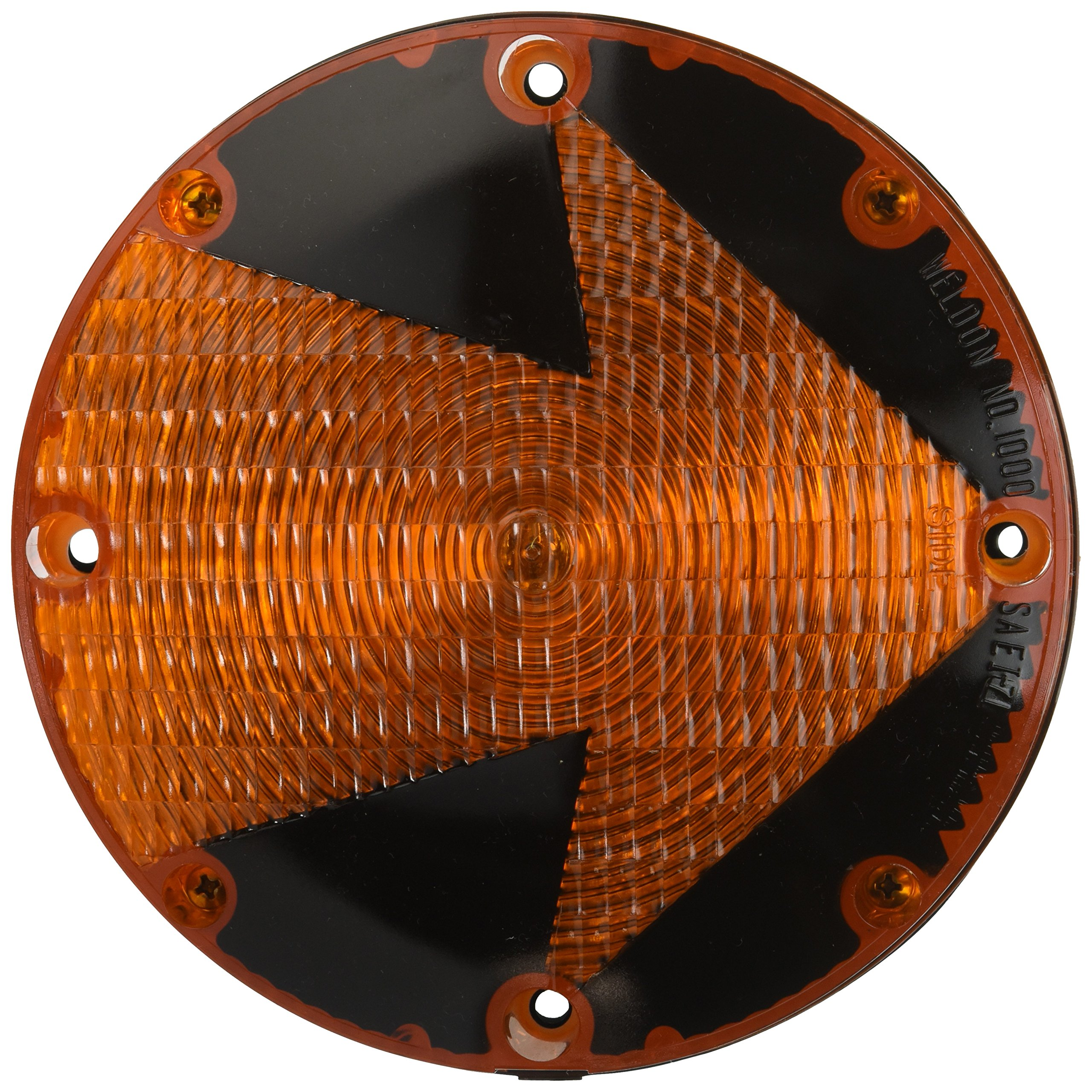 Grote 56083 7'' School Bus Light (Single Contact with Arrow Lens)