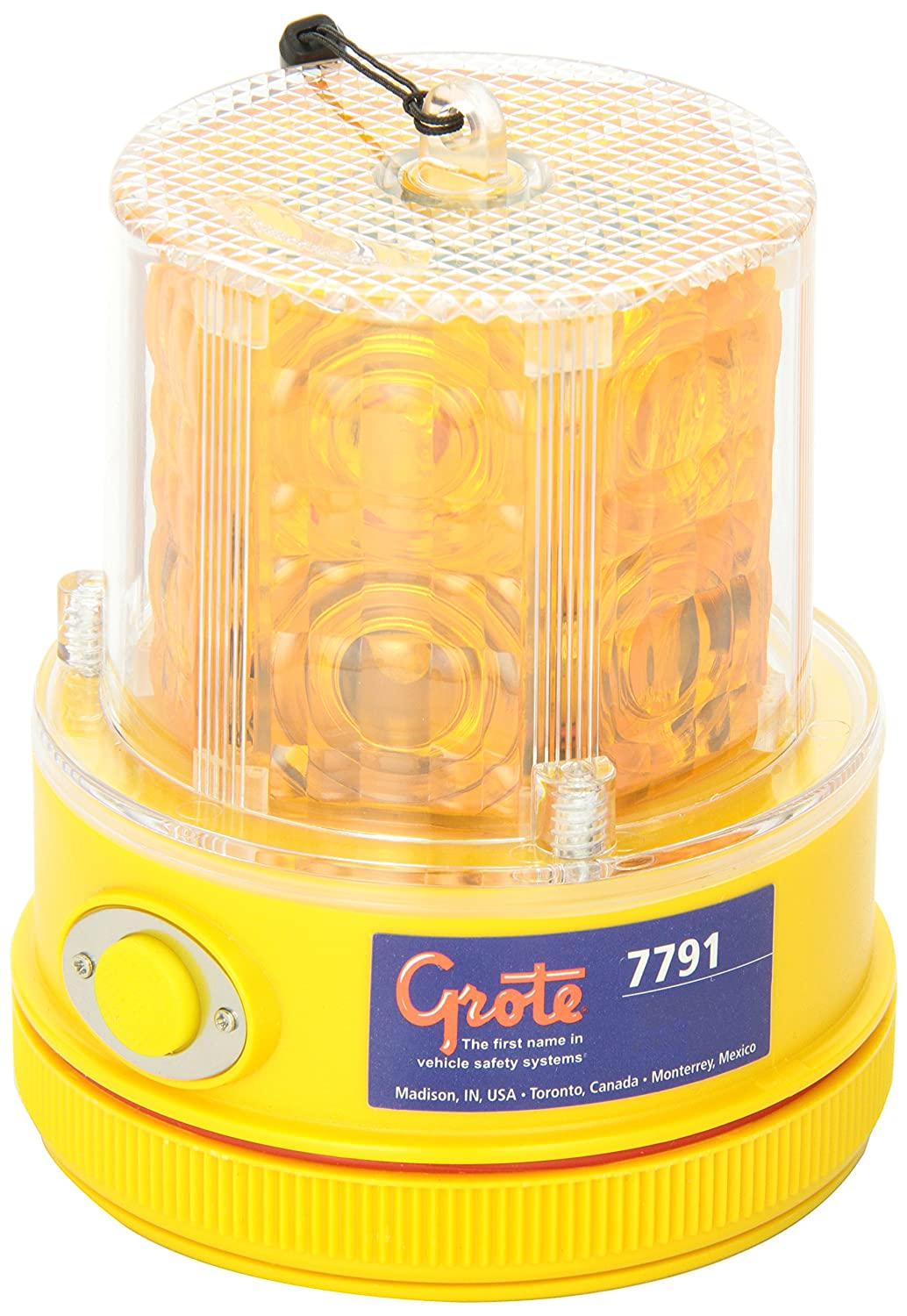 Grote 77913 360° Portable Battery Operated LED Warning Light