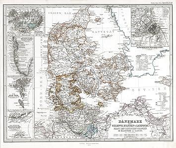 Amazon world atlas 1864 danemark mit schleswig holstein und world atlas 1864 danemark mit schleswig holstein und laeenburg sweden gumiabroncs Images