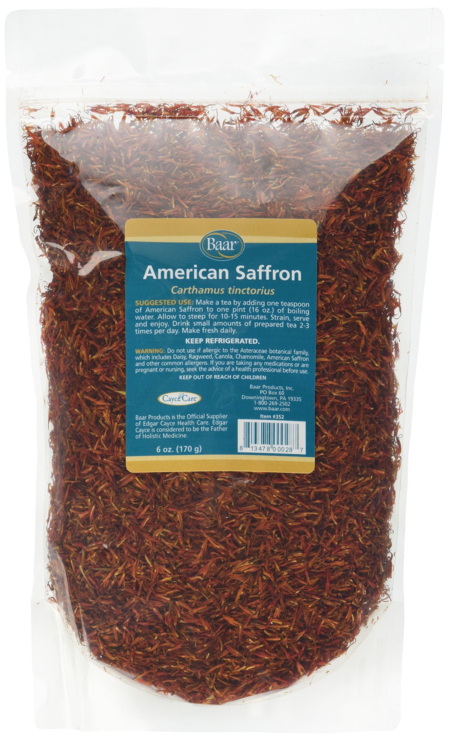 American Saffron Herbal Tea, 6 Ounce by Baar