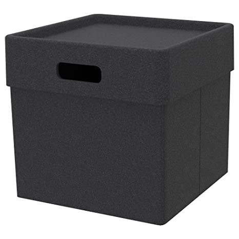 Ikea Eket Box Dark Grey Amazoncouk Kitchen Home
