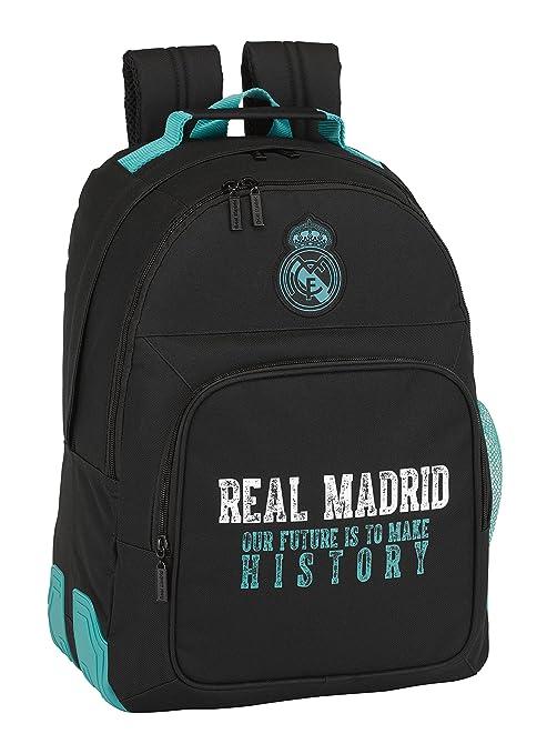 Safta Mochila Day Pack Adaptable Carro. Real Madrid 2ª Equipación.